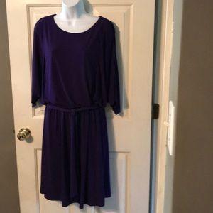Chico's Purple Dress Sz 3 XL